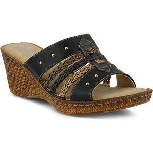 Patrizia Pitaya Wedge Sandals Size 9